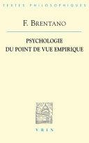 illustration Psychologie du point de vue empirique