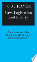 Law  Legislation and Liberty