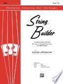 String Builder   Cello  Book II