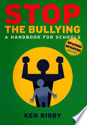 Stop the Bullying Ever Expanding Field Requiring Constantmonitoring As New Ideas