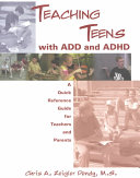 Teaching Teens with ADD and ADHD