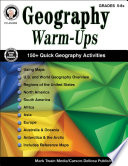 Geography Warm Ups  Grades 5   8