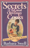 Secrets Of The Great Old Timey Cooks