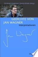 Gedichte von Jan Wagner