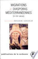 Migrations et diasporas méditerranéennes