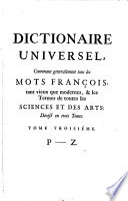Dictionaire Universel
