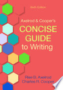 Axelrod   Cooper s Concise Guide to Writing