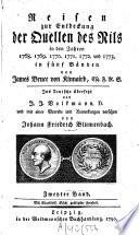 Reisen zur Entdeckung der Quellen des Nils in den Jahren 1768, 1769, 1770, 1771, 1772 und 1773