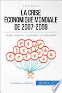 Crise Économique Mondiale par Alberto Bomba, Anastasia Samygin-Cherkaoui, 50Minutes.fr,