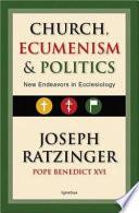Church  Ecumenism  and Politics