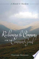 download ebook reclaiming the commons for the common good pdf epub