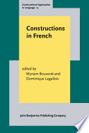 Constructions in French