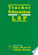Teacher Education for Languages for Specific Purposes
