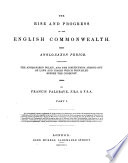 The Rise and Progress of the English Commonwealth. Anglo-Saxon Period