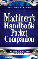 Machinery s Handbook  Pocket Companion