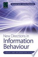 New Directions in Information Behaviour