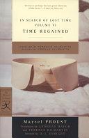 In Search Of Lost Time Volume Vi book