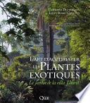 illustration L'art d'acclimater les plantes exotiques