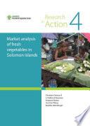 Market analysis of fresh vegetables in Solomon Islands