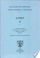 Sciences Historiques Et Philologiques