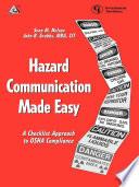 Hazard Communication Made Easy