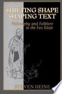Shifting Shape  Shaping Text