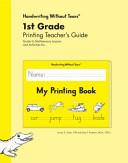1st Grade Printing Teacher s Guide