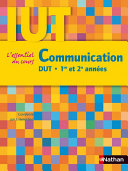 Communication   DUT   1re et 2e ann  es