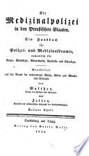 Systematisches Lehrbuch der Polizeiwissenschaft  nach preussischen Gesetzen