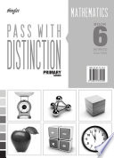 Pass With Distinction Primary Mathematics Book 6 Answers Booklet