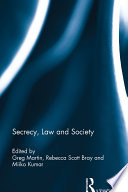 Secrecy  Law and Society