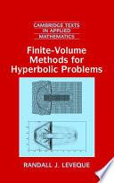 Finite Volume Methods for Hyperbolic Problems