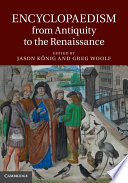 Encyclopaedism from Antiquity to the Renaissance