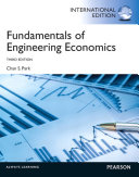 Fundamentals of Engineering Economics  International Edition