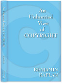 An Unhurried View Of Copyright : ...