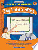 Interactive Learning  Daily Sentence Editing  Grade 4