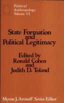 State Formation and Political Legitimacy