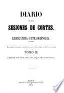 Diario de las sesiones de Cortes  Legislatura de