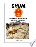 China Government and Business Contacts Handbook