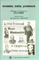 Hommes, idées, journaux, mélanges en l'honneur de Pierre Guiral