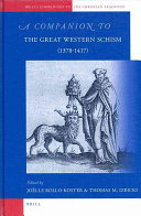 A Companion to the Great Western Schism (1378-1417)