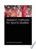 Research Methods for Sport Studies