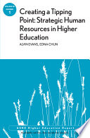 Creating a Tipping Point  Strategic Human Resources in Higher Education