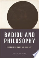 Ebook Badiou and Philosophy Epub Sean Bowden Apps Read Mobile