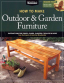 How to Make Outdoor and Garden Furniture