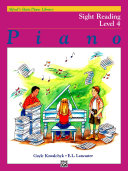 Alfred's Basic Piano Library, Sight Reading Book 4