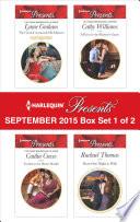 Harlequin Presents September 2015   Box Set 1 of 2