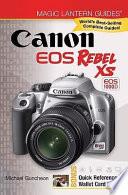 Canon EOS Rebel XS EOS 1000D
