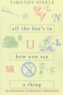 All the Fun s in how You Say a Thing Book PDF