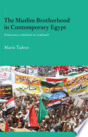 The Muslim Brotherhood in Contemporary Egypt Most Influential Islamist Movements As
